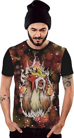 Di Nuevo Camiseta Pokemon Masculina Color