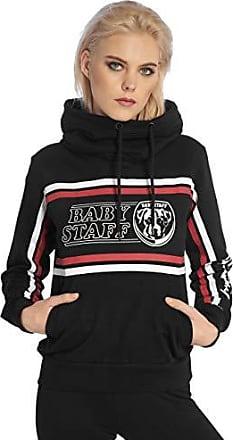 Babystaff Sady Hoodie weiß grau Frauen Pullover Größe S M L XL