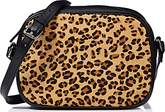 Hotter Womens Gem Cross-Body Bag Black (Black-Leopard)