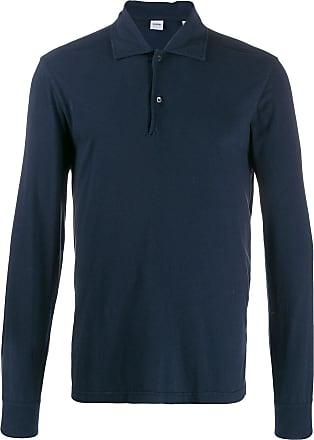 Aspesi long-sleeved polo shirt - Azul
