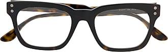 Bottega Veneta Armação de óculos quadrada - Marrom