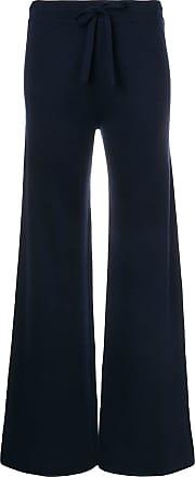 Pringle Of Scotland Calça em lã merino - Azul