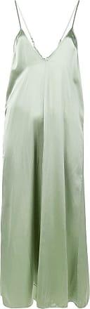 Forte_Forte knot detail slip dress - Green