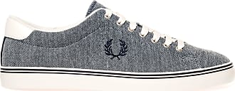Fred Perry Underspin Oxford Pique Navy B1139608, Trainers - 41 EU