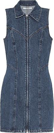 GRLFRND Colette denim dress