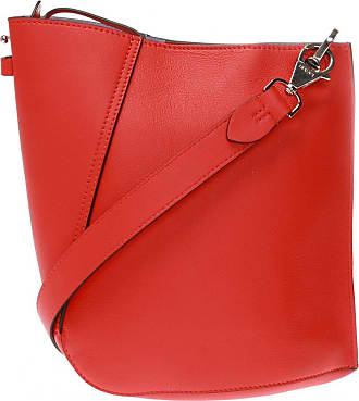 Lanvin Hook Shoulder Bag Womens Red