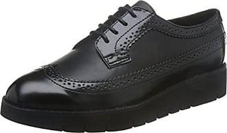 9cb939d8 Geox D Blenda C, Zapatos de Cordones Brogue para Mujer, Negro (Black C9999
