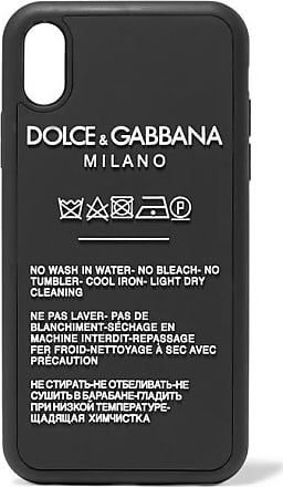 Dolce & Gabbana Printed Silicone Iphone Xr Case - Black