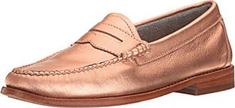 G.H. Bass & Co. Womens Whitney Penny Loafer, Copper, 7 M US