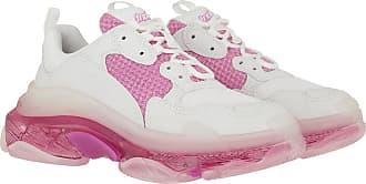 Balenciaga Sneakers - Triple S Sneaker White Pink - white - Sneakers for ladies