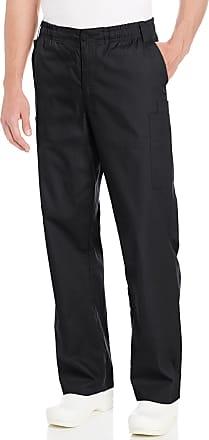 Dickies womens86106Signature Elastic Waist Scrubs Pant Medical Scrubs Pants - Black - 3X-Large