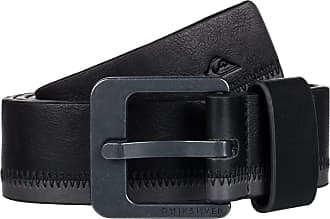 Quiksilver The Stitchout - Faux Leather Belt - Men - XL-38 - Black
