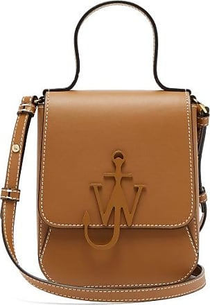 J.W.Anderson Top Handle Anchor-logo Cross-body Bag - Womens - Tan