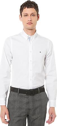 d065e7091 Tommy Hilfiger Camisa Tommy Hilfiger Slim Elevated Branca