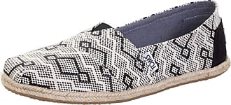Toms Woman Classic Jacquard Rope Sole Black Diamond