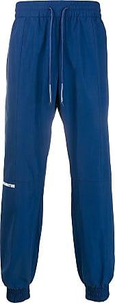 WWWM - What We Wear Matters Calça esportiva com ajuste no cós - Azul