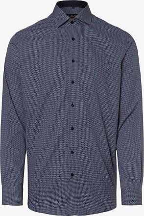 Eterna Herren Hemd - Bügelleicht blau