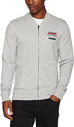 Regul/är Regular Fit Langarmshirt Tommy Jeans Herren Basic Logo Zipthru  Lang