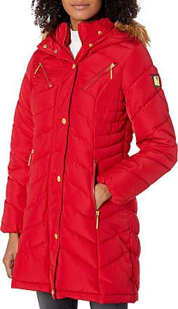 Rocawear Womens Plus Size Outerwear Jacket 1X Rib Bottom White//White