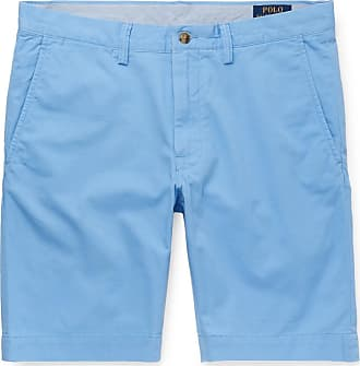 2436e1d7 Polo Ralph Lauren Slim-fit Stretch-cotton Twill Chino Shorts - Light blue