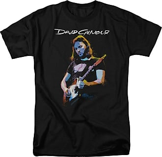 Popfunk David Gilmour Guitar Gilmour Unisex Adult T Shirt for Men and Women Black