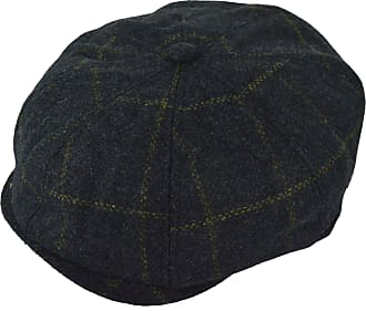 GFM Hats 8 Panel Wool Blended Baker Boy Cap hat (BKB-WOH)(GHNL-S)