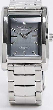 Ben Sherman square dial watch-Silver