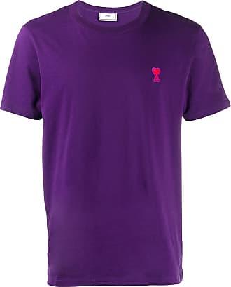 Ami Camiseta Ami De Coeur - Roxo