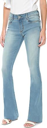 Enna Calça Jeans Enna Flare Estonada Azul