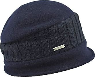 Seeberger Baske marine blue Baskenmütze Franzosenmütze reine Wolle Damen blau