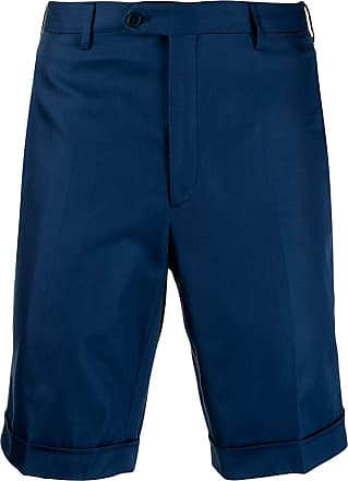Brioni Bermuda de sarja - Azul