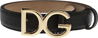 Dolce & Gabbana Gürtel für Damen Günstig im Sale, Schwarz, Leder, 2019, 90