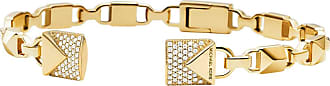 Michael Kors MKC1009AN710 Hinged Open Cuff Mercer Link Gold