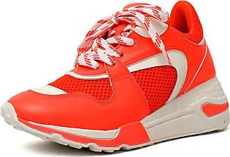Damannu Shoes Tênis Chunky Hilton Laranja Neon - Cor: Laranja - Tamanho: 36