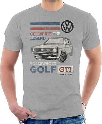 Volkswagen GTI Legend Mens T-Shirt Heather Grey