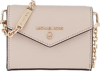 Michael Kors Jet Set Charm XS Card Case Crossbody Bag Light Sand Umhängetasche beige