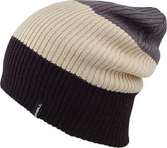O'Neill Oneill Hats Reversible Colour Block Beanie Hat - Grey-Black 1-Size