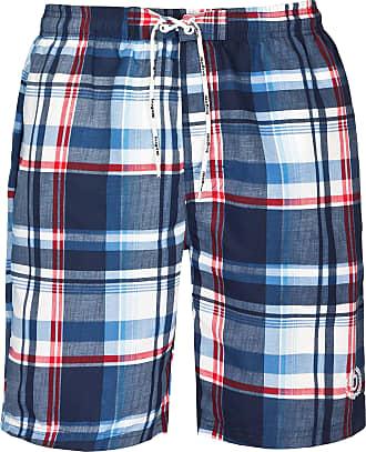 checkered mens swimming shorts Bugatti/®