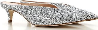 032c Sandals for Women On Sale, Silver, Leather, 2017, 10 6 7 8 8.5 9