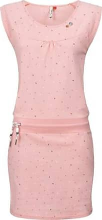 b7c53d5870331 Ragwear Damen Kurzarm Jerseykleid Sommer Baumwoll Kleid Dress leicht  Penelope