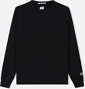 C.P. Company C.P. Firma Rundhalsausschnitt Mako Sweat Black - cotton | black | xtra large - Black/Black