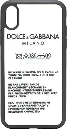 Dolce & Gabbana care instruction I-phone XR case - White