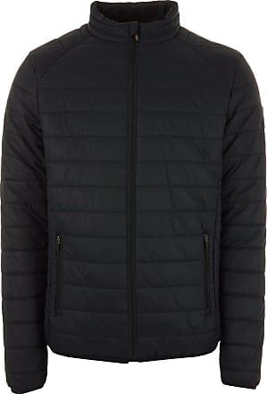 Henleys Men/'s Demolition Padded Coat Jacket Blue