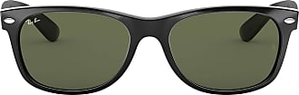 Ray-Ban New Wayfarer Classic RB 2132 52 901, Black With Green Classic G-15 lens