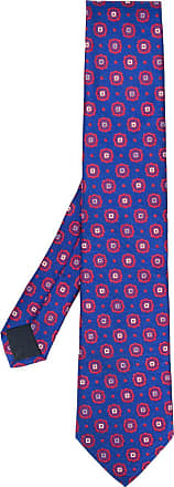 Corneliani patterned tie - Azul