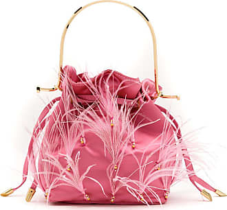 Waiwai Bolsa bucket Bel em cetim - Rosa