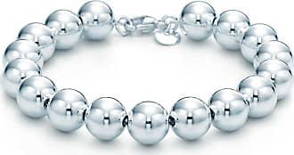 Tiffany & Co. Tiffany City HardWear ball bracelet in sterling silver, small - Size 7 in