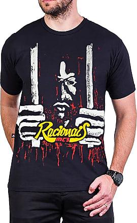 Bandalheira Camiseta Racionais MCs Raio X Brasil Preta