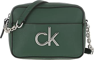 Calvin Klein Cross Body Bags - Re-Lock Camera Bag Deep Forest - green - Cross Body Bags for ladies