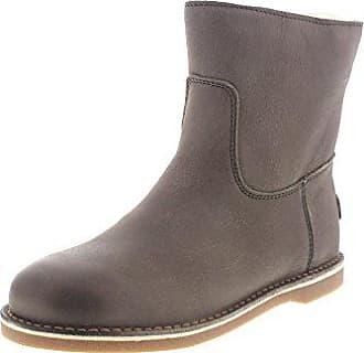 Shabbies Amsterdam Schuhe Stiefeletten 181020043 - Taupe, Größe 42 EU 3aa28f9b02